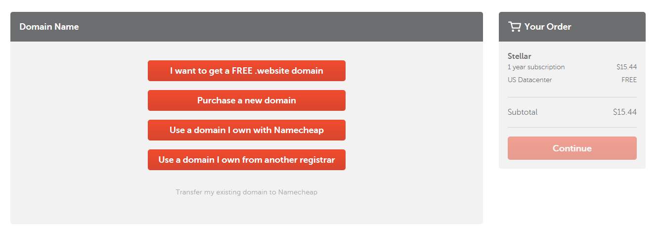 Domain name namecheap