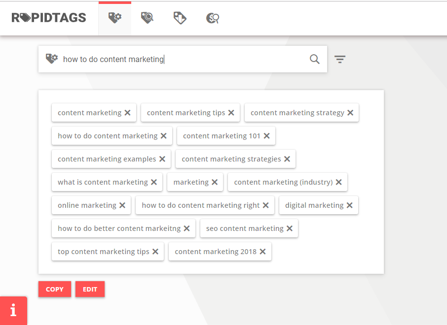 rapidtags youtube keyword research