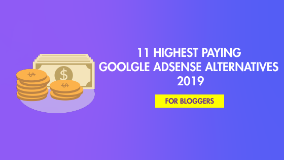 highest paying google adsense alternatives