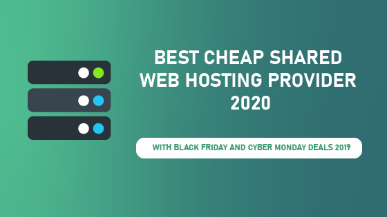 best cheap shared web hosting providers 2020