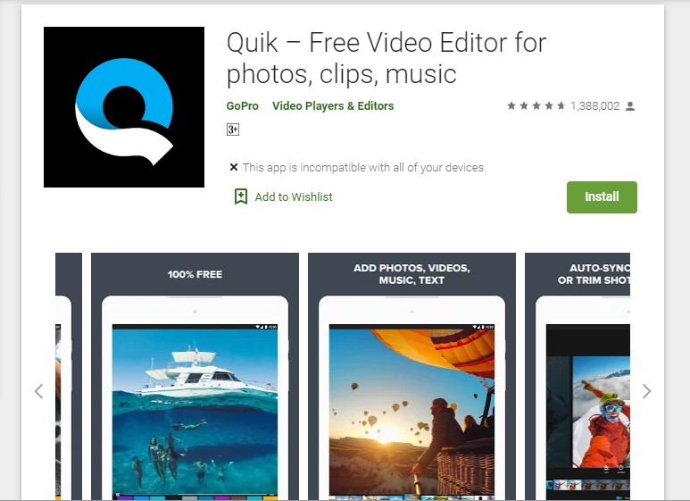 quil free intro maker for android and ios